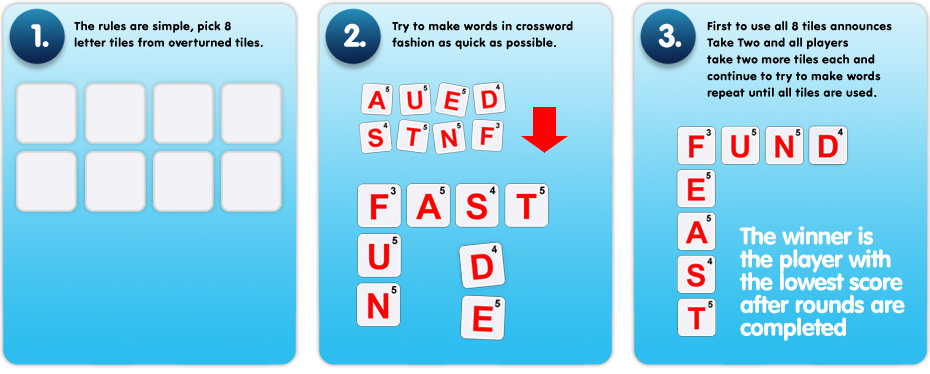 Take 2 The Fast Thinking Word Game The Game